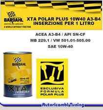 1 LITRO OLIO MOTORE AUTO BARDAHL BARDHAL XTA POLARPLUS 10W40 VW 501.01 505.00