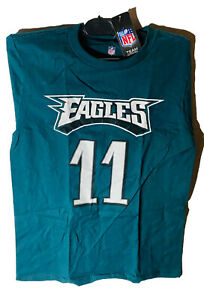 NFL Team Apparel Philadelphia Eagles #11 Carson Wentz  Youth T-Shirt Medium
