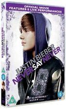 JUSTIN BIEBER NEVER SAY NEVER JADEN SMITH PARAMOUNT UK 2011 REGION 2 DVD VGC