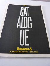 1984 , catalogue futuropolis  (car3) -