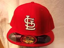 New Era 59/50 St, Louis Cardinals  Fitted Baseball Cap 7 1/2 New