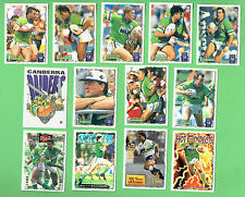 1995 SERIES 2 RUGBY LEAGUE CARDS - CANBERRA RAIDERS