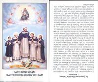 RARO SANTINO  DI SANTI DOMENICANI MARTIRI DI DUONG VIETNAM-N.4786