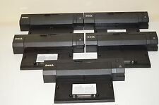 Lot of 5 Genuine Dell Pro2X latitude E Port Plus dock E6400 E6420 E6500 E6520