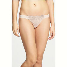 UNDERELLA by Ella Moss - Stunning STELLA THONG PANTY in Evening Sand Size SMALL
