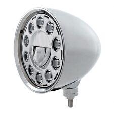 "UNITED PACIFIC LED 7"" Chrome Billet Style ""CHOPPER"" Headlight 31584"