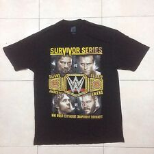 The Undertaker 25th Anniversary WWE Survivor Series Shirt Nov 2015  size L
