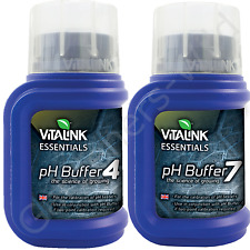 2PACK pH BUFFER pH 4 7 VITALINK 250ml standard calibration solution hydroponic