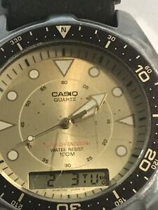 Casio AMW-320D, New Battery Fantastic Shape Slight Scratch In The Middle