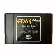 PAL/NTSC ED64 Plus Game Save Device Cartridge 8GB SD Card Adapter for N64 Games