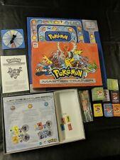 Pokemon Master Trainer Board Game 2005 Orange 99% Complete