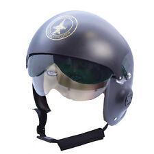Adult Jet Fighter Pilot Helmet Top Gun Fancy Dress Costume Accessory
