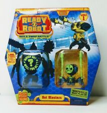 Ready2Robot - Rare Hard To Find Green Bot blasters - New Ready To Robot