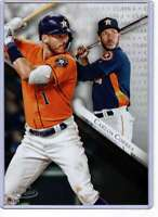 Carlos Correa 2019 Topps Gold Label Class One 5x7 #26 /49 Astros
