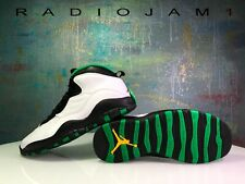 Nike Air Jordan Retro X 10 Seattle Supersonics Green Sonics 310805-137 Sz 11