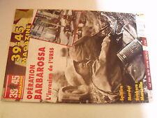µµ 39/45 Heimdal n°119 Operation Barbarossa Marder Spitfire Bunker Marseille