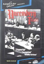 NUREMBERG TRIALS (1947) - Region Free DVD - Sealed