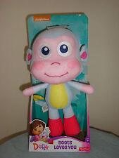 Dora the Explorer Boots Loves You Soft & Huggable Plush