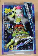 Monster High Frankie Stein Elektrisiert Deluxe Monsterhaar Freundinnen DVH72 NEU