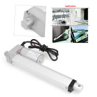 DC 12V Linear Actuator 750N Electric Motor Lift 50-800mm For Medical Auto Car
