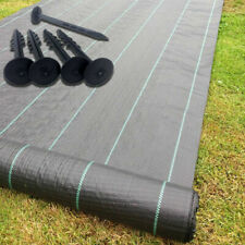 Heavy Duty Weed Control Fabric Membrane Garden Landscape Ground Cover Sheet x 1