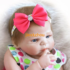 "22"" Lifelike Reborn Baby Doll Can Take A Bath In The Water"