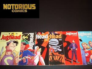 Jughead 1 2 3 4 5 6 Complete Comic Lot Run Set Archie Zdarsky Collection