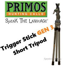 "Primos Short Tripod Trigger Stick Generation Gen 3 18"" - 38"" 65812"