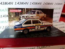 car 1/43 IXO Rally Champions Finland : FORD ESCORT RS1800 1981 Vatanen