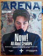 EXO KAI/Cuttings 9P+Cover--Magazine Clippings/Arena Korea/November 2016