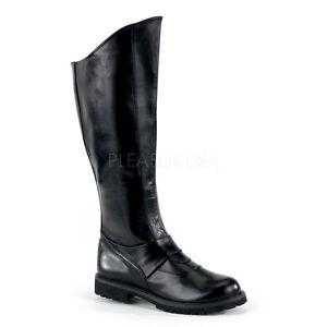 Black Batman Dark Knight Darth Vader Star Wars Kylo Ren Costume Mens Boots 10 11