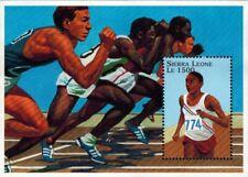 VINTAGE CLASSICS - Sierra Leone 1882 - Olympics '96 Track - Souvenir Sheet - MNH