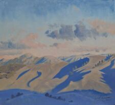 Early Morning, Megalong Valley - Original Australian Landscape Oil Painting.