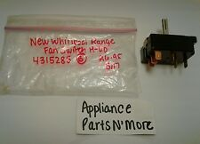 New Kenmore Range Switch 4315285 Free Shipping