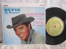 "ELVIS PRESLEY ELVIS BY REQUEST VINYL 45 RECORD E.P. 7"" RCA GOLD LABEL"