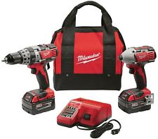 Milwaukee 2697-22CT M18 18-Volt Lithium-Ion Cordless Hammer Drill/Impact Driver