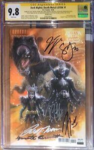 Death Metal Legend Of The Dark Knights(1:25) 1st Robin King CGC SS 9.8 Sig x's 7