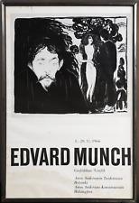 Edvard Munch, Grafik Exhibition Amos Anderson Konstmuseum Helsinki, Poster