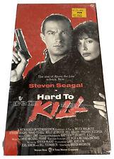 VHS Sealed 1990 Hard To Kill Steven Seagal, Kelly LE Brock NEW Movie