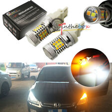 High Power 3157 Dual-Color Switchback 31-SMD Samsung LED DRL Turn Signal Lights