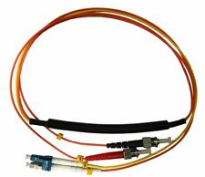 1 Meter ST- 50/125 MM/LC- SM Mode Conditioning Fiber Optic Patch Cable (LC Equip