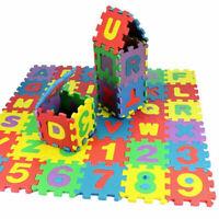 KQ_ 36pcs Alphabet Numbers EVA Floor  Mat Baby Kids Room Jigsaw ABC foam Puz