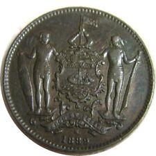 elf British North Borneo  1 Cent 1889 H
