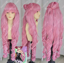 ONE PIECE Perona Halloween Wavy Hair Cosplay Party Wig Curly Wig+Six Ponytails