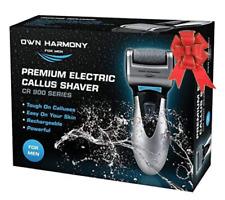 Mens Electric Foot Callus Shaver Hard Skin Remover USB Powerful Feet Pedicure...