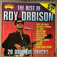 THE BEST OF ROY ORBISON  EX+ VINYL LP / In Dreams / Crying / Pretty Woman / Only