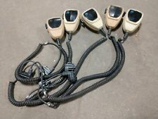 Lot Of 5 Motorola Microphone Maratrac Astro Spectra Syntor Systems 9000 W9 W5