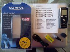Olympus VN-2100PC Digital Voice Recorder avec Accessoires