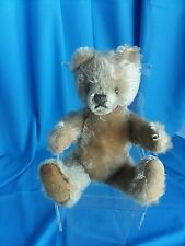 Vintage Steiff Mohair Teddy Bear -Masked Face- Sqeaker Working Made in Germany