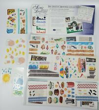 28 Sheets Creative Memories Spring//SummerStickers Over 400 Stickers Flowers ETC